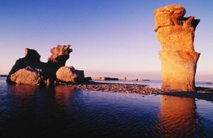 ミンガン群島の奇岩